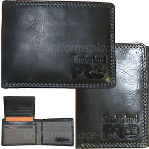Timberland Pro Leather Wallet Mens BRADY Passcase,Trifold RFID Protection Wallet
