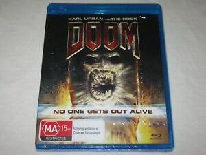 DOOM - Karl Urban - Brand New & Sealed - Region B - Blu Ray