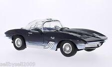 MOTORMAX 1961 CHEVROLET CORVETTE MAKO SHARK NAVY BLUE 1/18 Diecast 73102BL