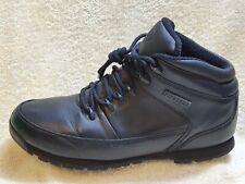 Firetrap mens Walking Boots Leather Black UK 12 EUR 46