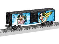Lionel 6-82948 Justice League Wonder Woman Box Car O Gauge Model Trains