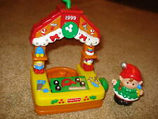 FISHER PRICE LITTLE PEOPLE 1999 HOLIDAY CHRISTMAS EVE ORNAMENT