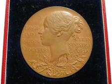 1897 enveloppé Médaille du jubilé de diamant, bronze 56 mm.
