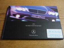 MERCEDES BENZ AMG RANGE 2000 MY PRESTIGE BROCHURE jm