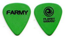 Allman Brothers Brian Farmer Warren Haynes Farmy Green Guitar Pick - 2012 Tour