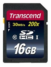 Transcend 16 GB High Speed SDHC Class 4 Flash Memory Card TS16GSDHC4