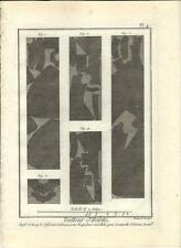 Stampa antica SARTORIA ABITI Pl 4 Enciclopedia Diderot 1786 Old antique print