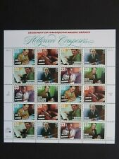 1999 Hollywood Composers - Cat # 3339-3344 Sheet of Twenty 33 Cent Stamps Mnhog