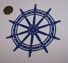3 Ship Wheels PAPER Die Cuts / Scrapbook & Card Making