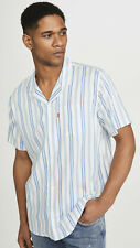 Levi's Red Tab Cubano Shirt Mens Size S Cloud