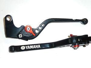 Yamaha MT-03 06-15 Long Noir Frein-Embrayage Levier Set Course Piste Gravé R15E5