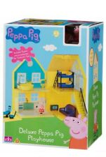 Peppa Pig deluxe playhouse Play House figures accessories Age 18m+ Toy Gift New