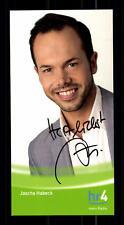Jascha Habeck Autogrammkarte Original Signiert # BC 77124
