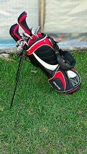 Orlimar Black Ice Golf Club Set Orlimar Bag with Stand Shoulder Straps