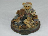 """Vintage Boyd's Bears & Friends """"From Our Home to Yours"""" Figurine 227804"""