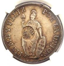 1834 Philippine 8 Reales Counterstrike on Peru 8 Reales T5 C/S Coin - NGC VF35