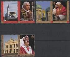 Vaticaan postfris 2007 MNH 1573-1575 - Paus Benedictus XVI