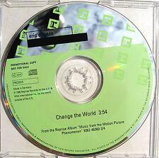ERIC CLAPTON CD Change The World 1 Track UK (Euro) PROMO PRCD315  Mint