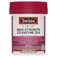 Swisse Ultiboost High Strength Co-Q10 300mg 90 capsules