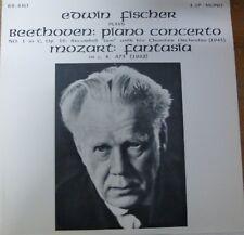 EDWIN FISCHER / BEETHOVEN - MOZART / RECITAL RECORDS