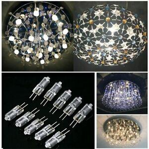 10pcs G4 Halogen Capsule Lamps JC Type Light Bulbs Base 20 Watt 12 Volt 2 Pin