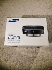 Samsung EX-W20NB 20mm f/2.8 Lens