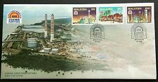 Malaysia 1994 Electricity 100 Years 3v Stamps FDC (Melaka) Se-tenant Diff Format