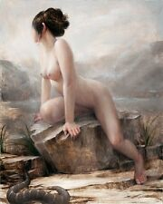 classical women nude art scenery canvas prints painting printed on canvas wa