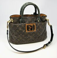 Louis Vuitton Handbag Etoile Exotique MM Limited Edition Quilted Monogram, Snake