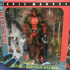 EPIC Deadpool Ultimate Collector's 1/10 Scale Action Figure New in Box