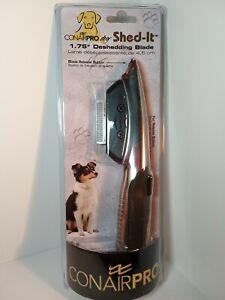 Conair Pro DOG Shed-It Dog Deshedding Blade Grooming Tool & Massaging Brush
