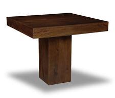 Dark Mango 90cm Cube Dining Table (h48d)
