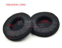 2 pairs 55mm BLACK Replacement ear pads cushion cover pillow for headphones
