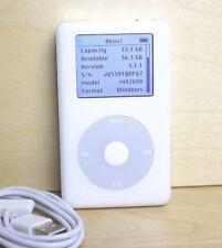 Apple cult iPod classic 4. Generation 4G Weiß A1059 40GB 40 GB RARITÄT #115