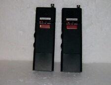 Vintage Mega Pocketcom Miniature Pocket Transceiver Walkie Talkie Pair! Euc!