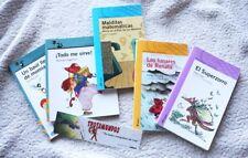 LOTE LIBROS INFANTILES ALFAGUARA: SUPERZORRO & MÁS (DAHL, FRABETTI) MARCAPAGINAS