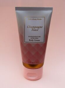Bath & Body Works  CHAMPAGNE TOAST  Ultra Shea Body Cream - FREE SHIPPING