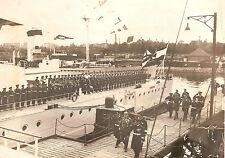 Original Foto des Kreuzers SMS Königsberg von 1931 mit   Paul von Hindenburg