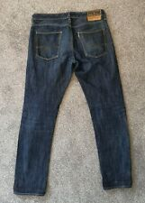 Mens Replay Blue Jeans Selvedge Jeans - W32 L34