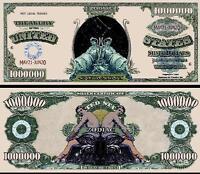 GEMAUX -  BILLET MILLION DOLLAR US! SIGNE ASTROLOGIQUE ASTROLOGIE ZODIAQUE ASTRO