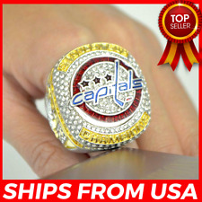 FROM USA - WASHINGTON CAPITALS Stanley Cup Championship 2018 Ring Ovechkin -GIFT