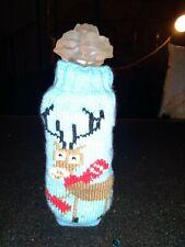 Reindeer Beer Bottle Sweater