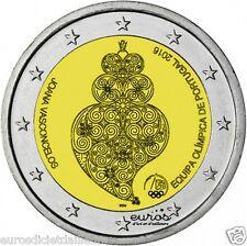 Pièce commémorative 2 euros PORTUGAL 2016 - Le Portugal aux JO d'été de Rio