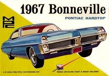 1967 MPC Bonneville Pontiac Hardtop model box magnet - new!