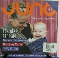 Juno Aut Extra Autumn 2016 A Babywearing Special Carrying Twins FREE SHIPPING sb