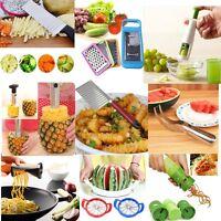 50Style Fruit Vegetable Chopper Slicer Potato Cutter Peeler Gadget Kitchen Tool