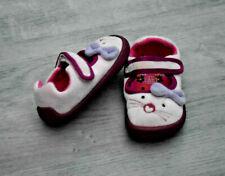 GIRLS CLARKS SIZE 4 F SLIPPERS INDOOR SHOES EUR 20