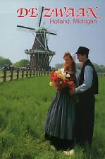 Dutch Village Holland Michigan, Tulip Festival, De Zwaan Windmill etc - Postcard