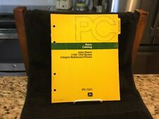 Vintage 1974 John Deere Parts Catalog 1150-1250 Series Moldboard Plows - Pc-1311
