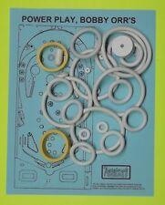 1978 Bally Bobby Orr's Power Play pinball rubber ring kit
